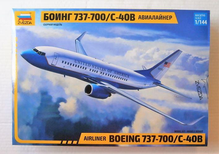 ZVEZDA 1/144 7027 BOEING 737-700/C-40B