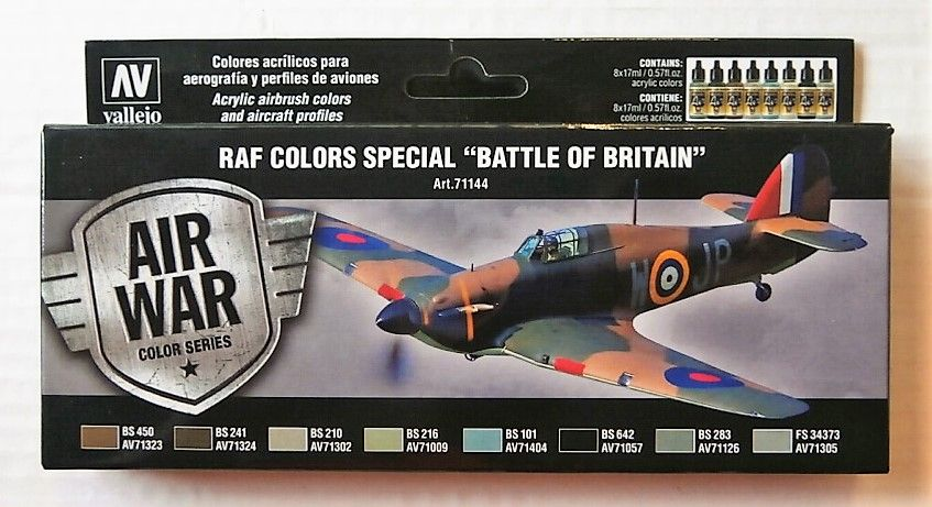 VALLEJO  71144 RAF COLOURS SPECIAL BATTLE OF BRITAIN
