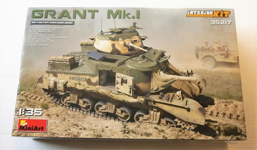 MINIART 1/35 35217 GRANT MK.I INTERIOR KIT