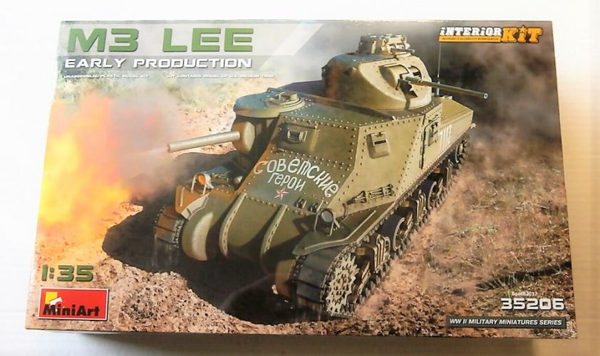 MINIART 1/35 35206 M3 LEE EARLY PRODUCTION INTERIOR KIT