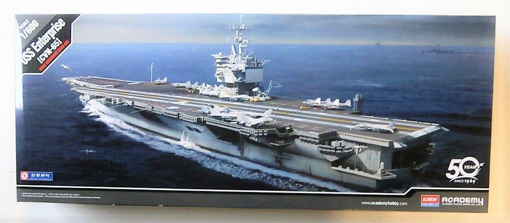 ACADEMY 1/600 14400 USS ENTERPRISE CVN-65