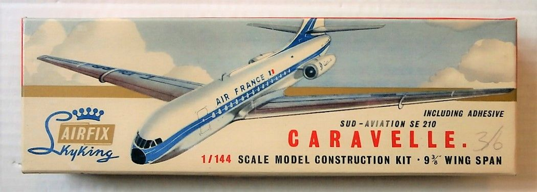 AIRFIX 1/144 SK-400 SUD-AVIATION SE 210 CARAVELLE