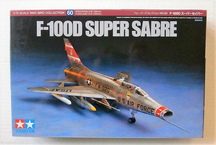 TAMIYA 1/72 60760 F-100D SUPER SABRE