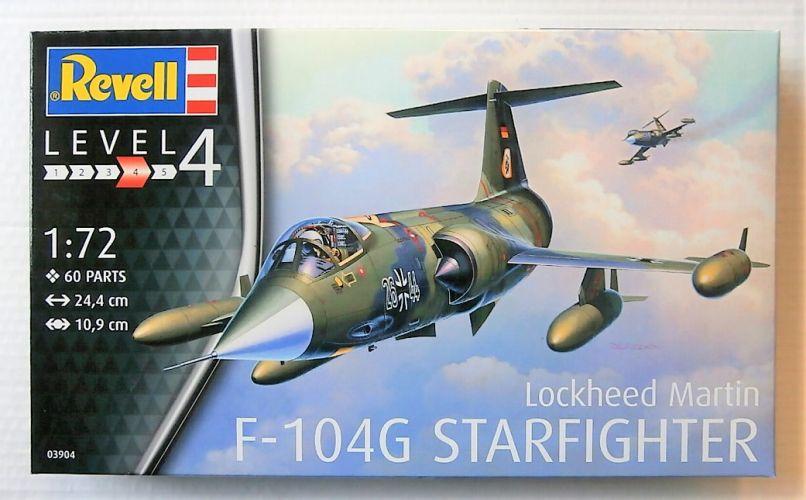 REVELL 1/72 03904 LOCKHEED MARTIN F-104G STARFIGHTER