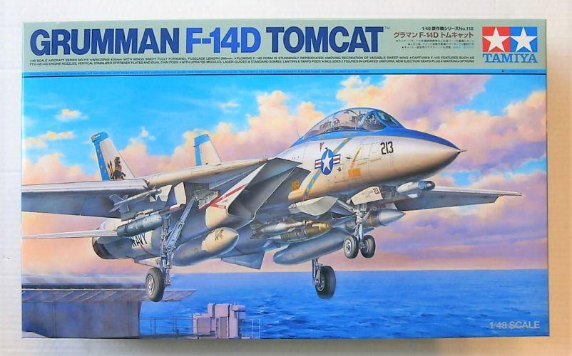 TAMIYA 1/48 61118 GRUMMAN F-14D TOMCAT