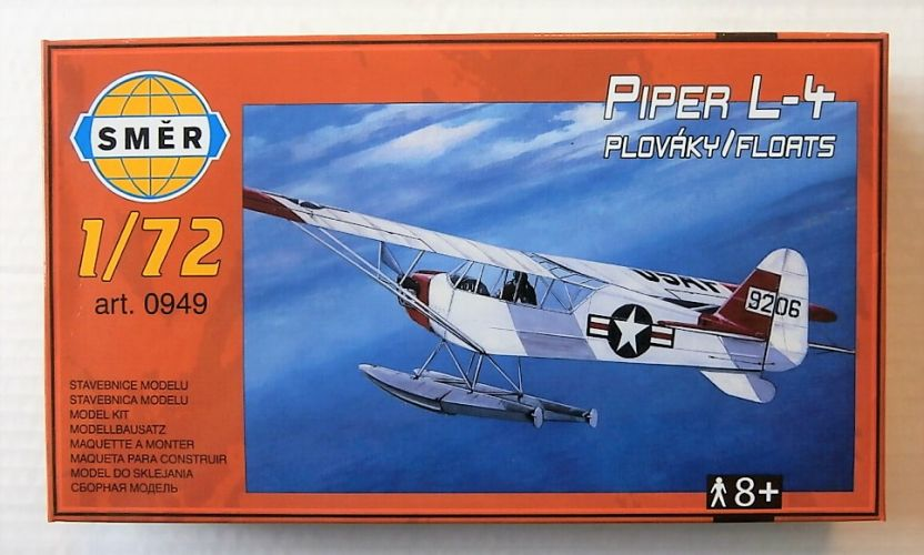 SMER 1/72 0949 PIPER L-4H ON FLOATS