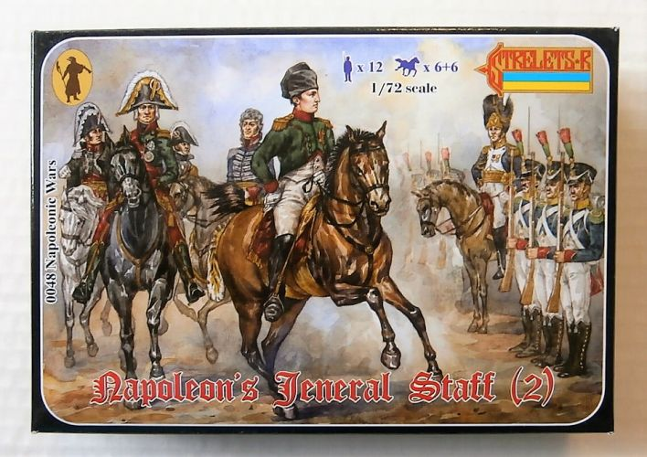 STRELETS 1/72 0048 NAPOLEAONS GENERAL STAFF