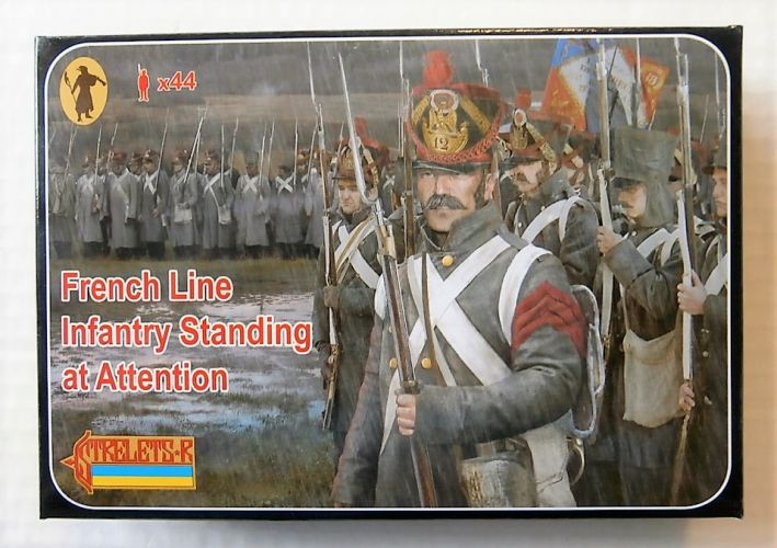 STRELETS 1/72 184 FRENCH LINE INFANTRY STANDING AT ATTENTION