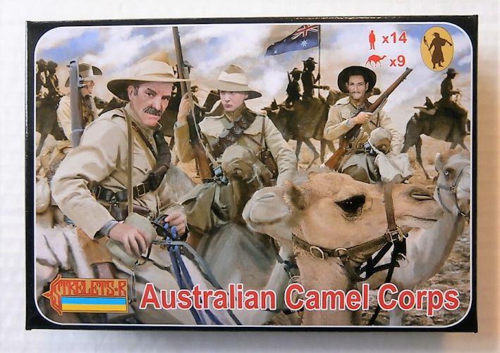 STRELETS 1/72 166 AUSTRALIAN CAMEL CORPS