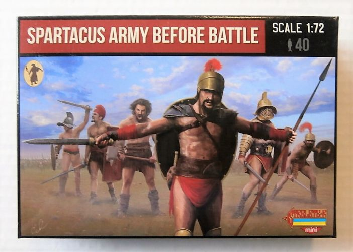 STRELETS 1/72 M110 SPARTACUS ARMY BEFORE BATTLE