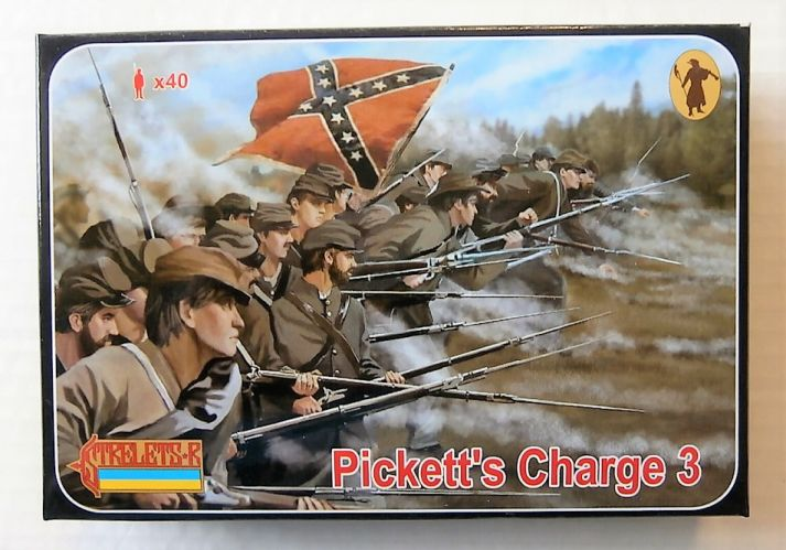 STRELETS 1/72 178 PICKETTS CHARGE 3 GETTISBURG