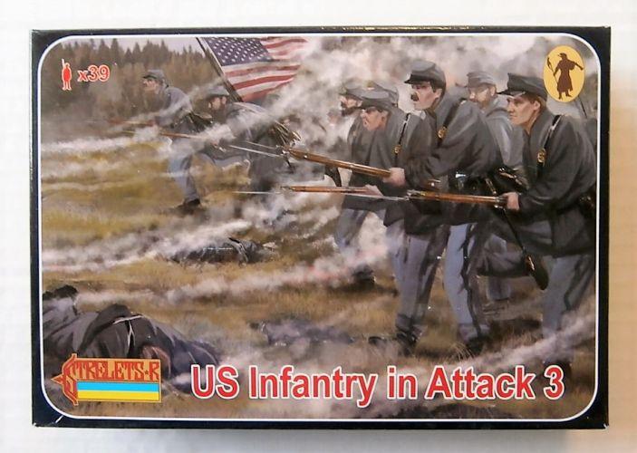 STRELETS 1/72 179 US INFANTRY IN ATTACK 3 GETTISBURG