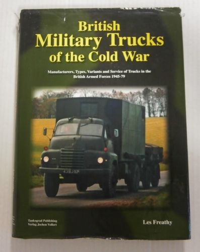 CHEAP BOOKS  ZB3311 BRITISH MILITARY TRUCKS OF THE COLD WAR