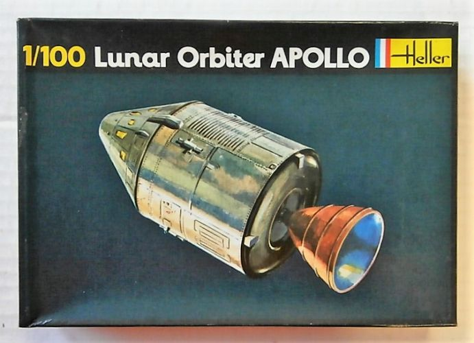 HELLER 1/100 021 LUNAR ORBITER APOLLO