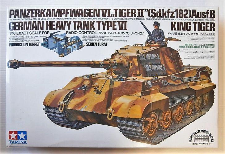 TAMIYA 1/16 56004 R/C KING TIGER  UK SALE ONLY
