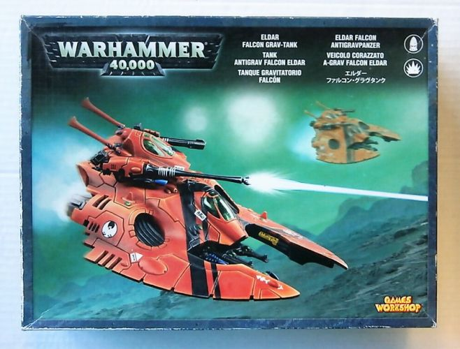 GAMES WORKSHOP  WARHAMMER 40000 ELDAR FALCON GRAV TANK