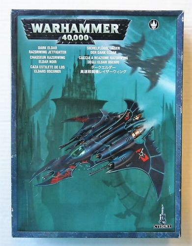 GAMES WORKSHOP  WARHAMMER 40000 DARK ELDAR RAZORWING JETFIGHTER
