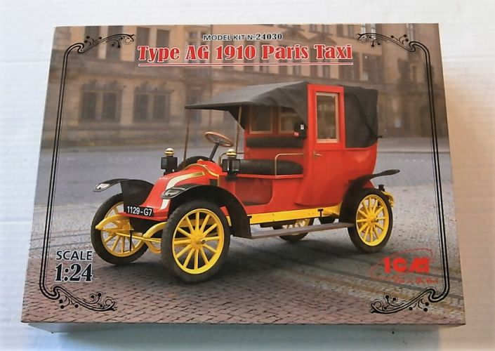 ICM 1/24 24030 TYPE AG 1910 PARIS TAXI