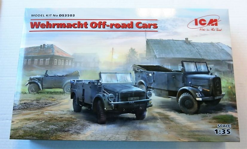 ICM 1/35 DS3503 WEHRMACHT OFF-ROAD CARS