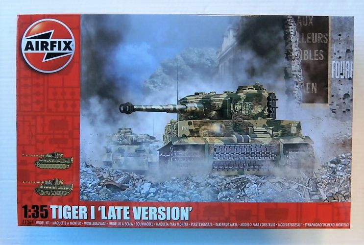 AIRFIX 1/35 1364 TIGER I LATE VERSION