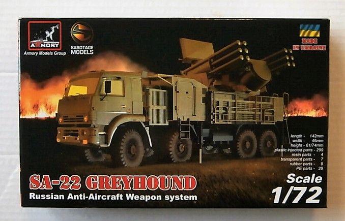 ARMORY 1/72 72401 SA-22 GREYHOUND