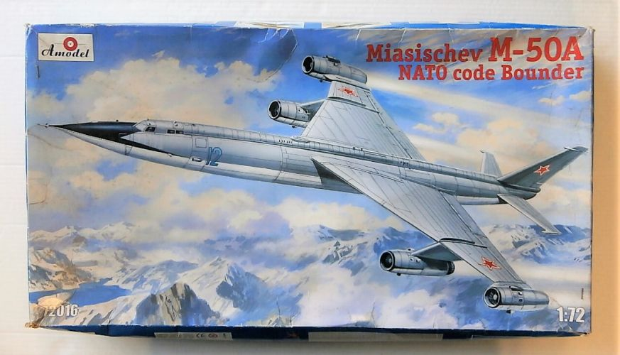 A MODEL 1/72 72016 MIASISCHEV M-50A NATO CODE BOUNDER  UK SALE ONLY