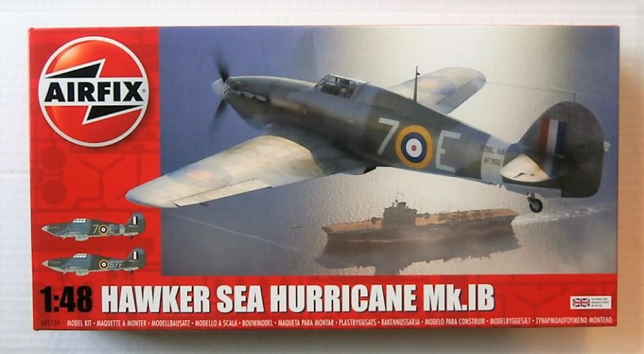 AIRFIX 1/48 05134 HAWKER SEA HURRICANE Mk.IB