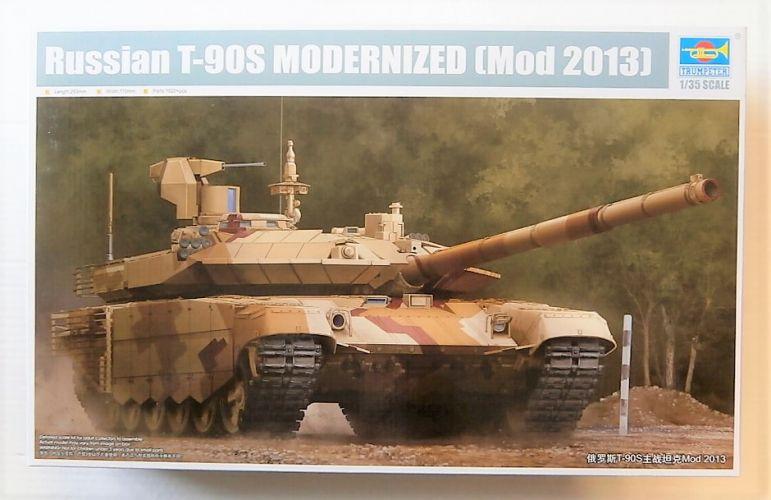 TRUMPETER 1/35 09524 RUSSIAN T-90S MODERNIZED  Mod 2013