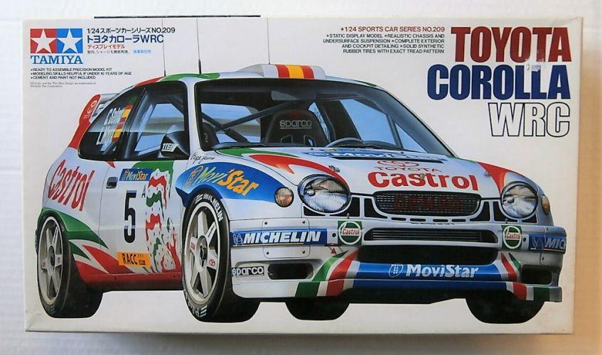 TAMIYA 1/24 24209 TOYOTA COROLLA WRC