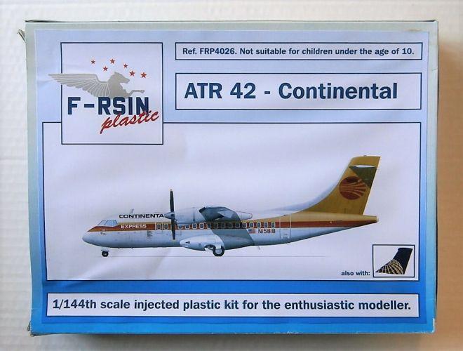 F-RSIN 1/144 4026 ATR 42 CONTINENTAL