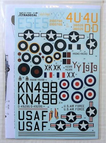 XTRADECAL 1/72 72083 DOUGLAS C-47 DAKOTA