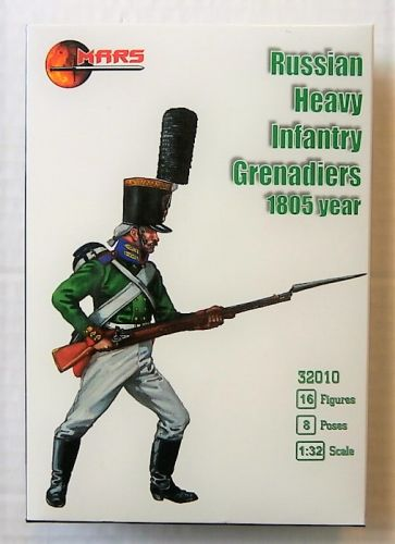 MARS 1/32 32010 RUSSIAN HEAVY INFANTRY GRENADIERS 1805