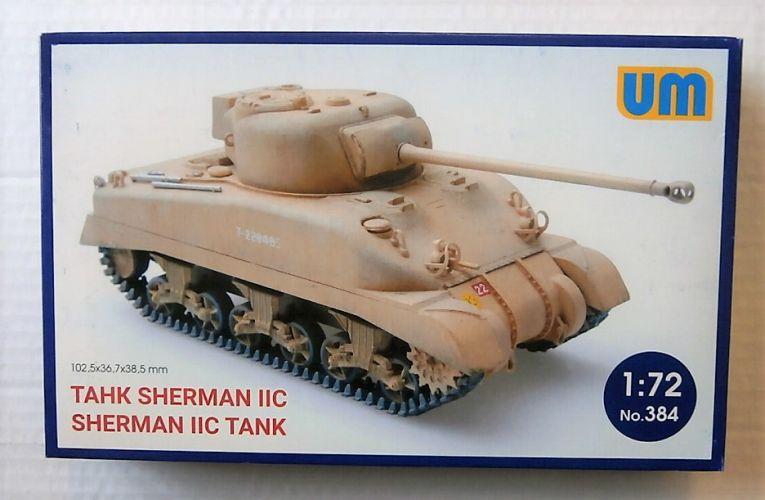 UNIMODEL 1/72 384 SHERMAN IIC TANK