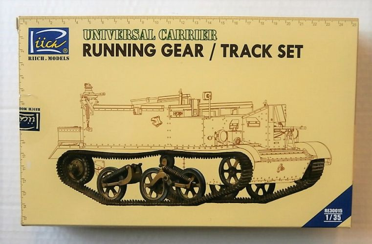 RIICH 1/35 30015 UNIVERSAL CARRIER RUNNING GER/ TRACK SET