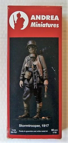 ANDREA MINIATURES 1/18  90MM  S8F57 STORMTROOPER 1917
