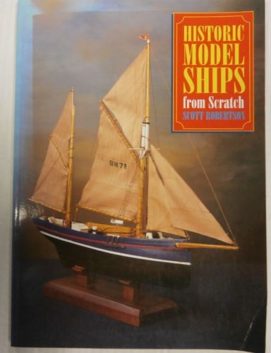 CHEAP BOOKS  ZB3350  HISTORIC MODEL SHIPS FROM SCRATCH