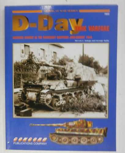 CHEAP BOOKS  ZB3369 D-DAY TANK WARFARE