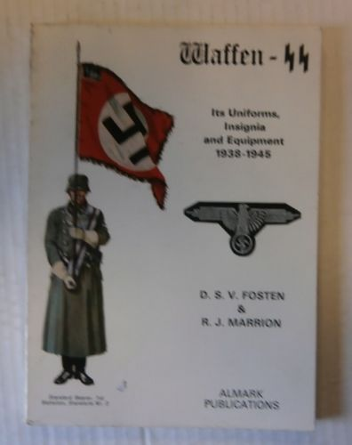CHEAP BOOKS  ZB3362 WAFFEN SS ITS UNIFORMS  INSIGNIA AND EQUIPMENT 1938-1945