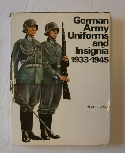 CHEAP BOOKS  ZB3341 GERMAN ARMY UNIFORMS AND INSIGNIA 1933-1945