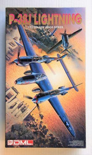 DRAGON 1/72 5018 P-38J LIGHTNING
