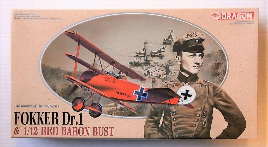 DRAGON 1/48 5903 FOKKER DR.1/RED BARON