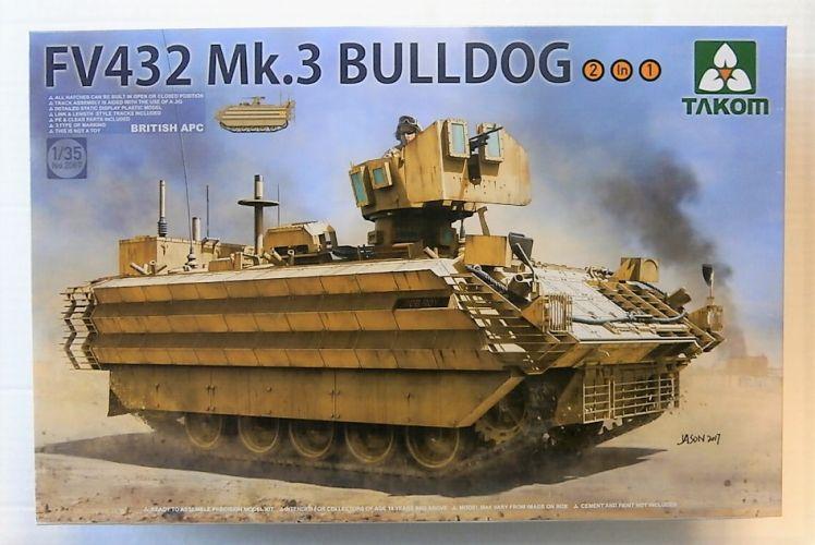 TAKOM 1/35 2067 FV432 MK3 BULLDOG BRITISH APC