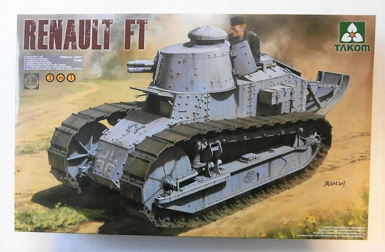TAKOM 1/16 1004 RENAULT FT FRENCH LIGHT TANK