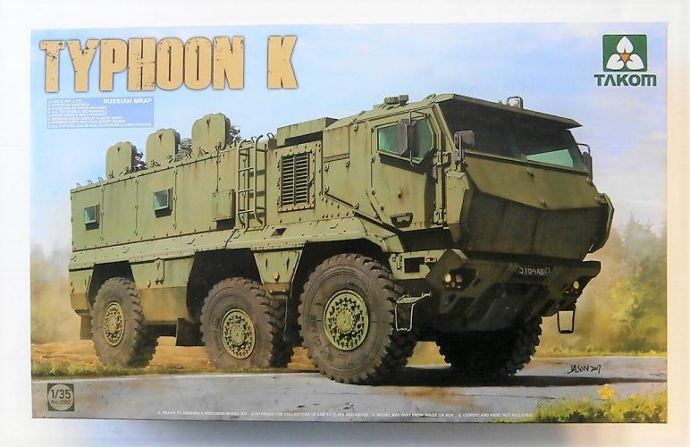 TAKOM 1/35 2082 RUSSIAN MRAP TYPHOON K