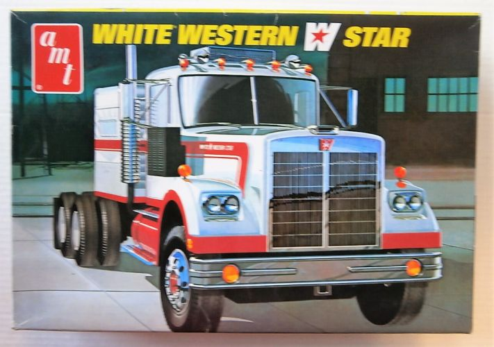 AMT 1/25 724 WHITE WESTERN STAR