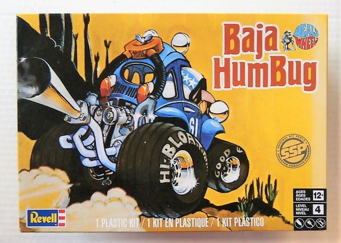 REVELL  1739 DEALS WHEELS BAJA HUMBUG