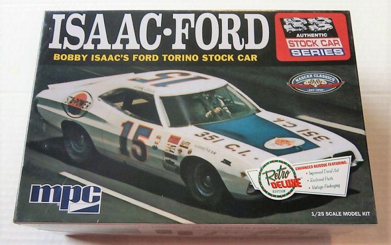 MPC 1/25 839 ISAAC-FORD TORINO STOCK CAR
