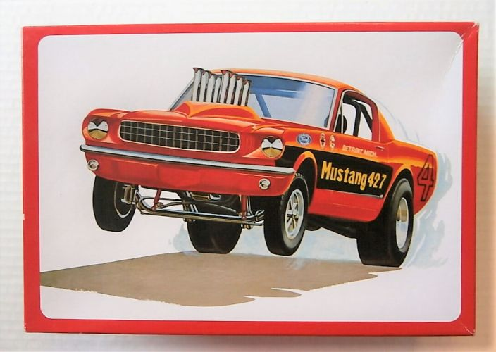 AMT 1/25 888 FUNNY CAR MUSTANG-GT 427 FUEL INJECTED DRAG CAR