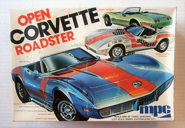 MPC 1/25 7506 OPEN CORVETTE ROADSTER