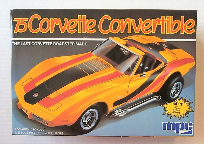 MPC 1/25 6360 75 CORVETTE CONVERTIBLE
